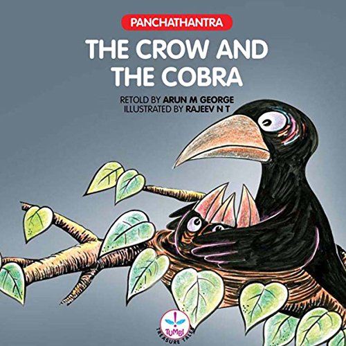 The Crow and the Cobra audiobook cover art