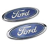 D28JD Emblema Logo per Il Tronco Cofano/portellone Posteriore Cofano Bagagliaio ABS Lettere Cover Adesiva Personalizzata per F-ORD Vecchio Mondeo Fox Fiesta