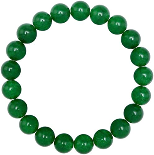 "Adabele Natural Gemstone Bracelet 7"" 7.5"" 8"" 8.5 Inch Stretchy Chakra Gems Stones 8mmm (0.31"") Beads Healing Crystal ..."