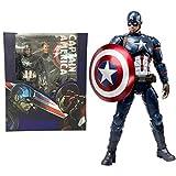 Marvel The Avengers Civil War Captain America Action Figure Kids Toys Model