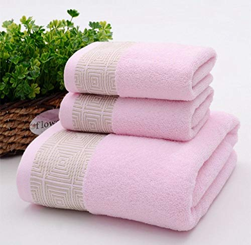 SDJYH Asciugamano da Doccia Grande in Cotone Asciugamani Spessi Bagno in casa Hotel per Adulti Set di Asciugamani per Bambini