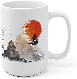 Son Goku Nimbus Japanese Art Dragon Ball Inspired Tea Mugs & Coffee Cups 11oz-15oz