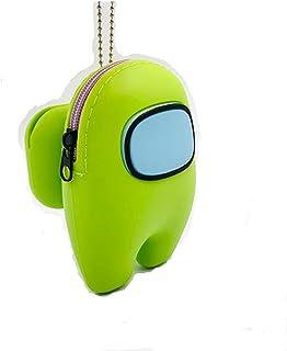 Dercormax 3,9 pollici tra noi in silicone portachiavi portamonete Merch portafoglio giocattoli carino ripieno sacchetto eq...