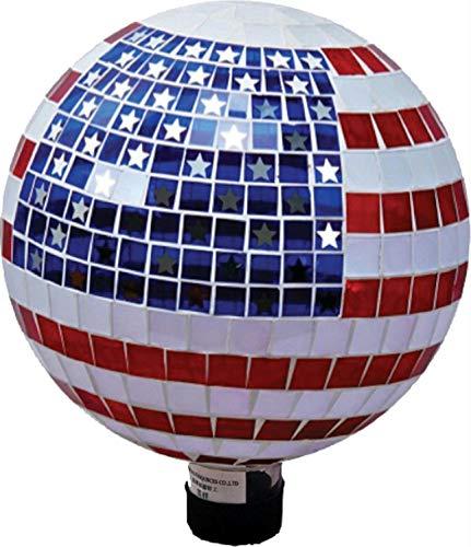 Very Cool Stuff GLMSS10 10' Stars & Stripes Gazing Globe