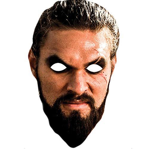 Lord Fox Máscara Facial de la Famosa de Juego de Tronos Khal Drogo Jason Momoa