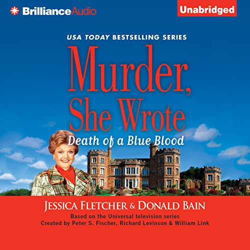 Murder, She Wrote: Death of a Blue Blood audiobook cover art