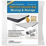 Queen/Full/Full-XL Foam Mattress Vacuum Bag for Moving,...