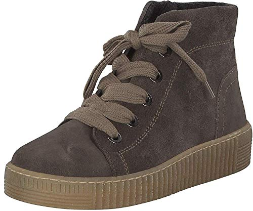 Gabor Damen Sneaker 6 UK , Taupe - 39 EU