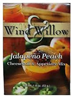 Jalapeno Peach Cheeseball and Appetizer Mix by Wind and Willow