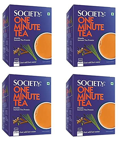 Society Tea One Same day shipping Cheap super special price Minute Masala ch - Premix Instant