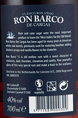 Ron Barco Dark Ron Barco De Cargas Solera Rum (1 x 0.7 l) - 4