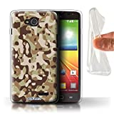Stuff4 Phone Case for LG L90/D405 Camouflage Army Navy
