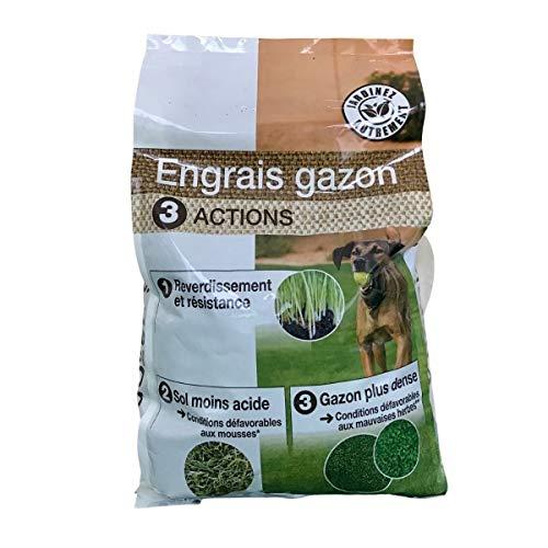 Florendi Engrais Gazon 3en1, 8kg