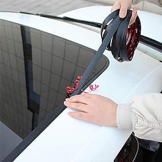 14mm 19mm Car Front Rear Windshield Sticker Car Window Sealant Rubber Stickers Sunroof Triangular Window Sealed Strips Sea...