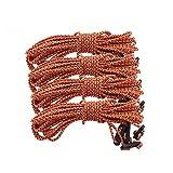Househome Cuerda de viento, cuerda de nailon de 2,5 m para tienda de campaña, cuerda de cortavientos, cuerda fija, cuerda para toldo para tienda de campaña (4 unidades)