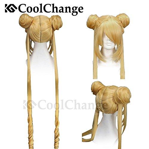 CoolChange Peluca de Sailor Moon (Usagi Tsukino) de la Serie Sailor Moon