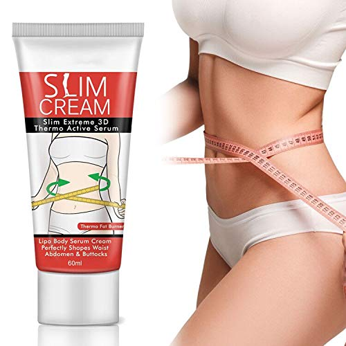 Hot Cream, Slimming and Firming Cream Anti Cellulite and Fat Burner Weight Loss Treatment Deep Tissue Massage and Muscle Relaxant for Shaping Body