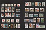 COMPLETE MINT SET OF POSTAGE STAMPS ISSUED IN...