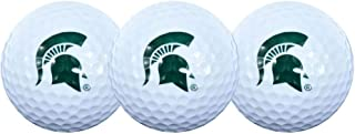 Team Effort Michigan State Spartans Golf Ball 3 Pack