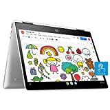 HP Chromebook x360 Intel Celeron N4020 Processor 12 inches Touchscreen Laptop, 4GB/64GB eMMC Storage/Chrome OS/1.35kg (Natural Silver), 12b-ca0010TU