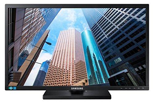 Samsung Monitor S22E450F Monitor Professionale 22  Full HD, 1920x1080, 60 Hz, 5 ms, HDMI, D-Sub, DVI, USB, senza Casse Integrate, Regolabile in Altezza, Swivel, Pivot, Nero