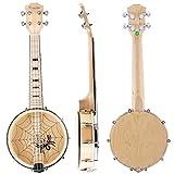 Banjo Ukulele Banjos Ukelele Uke Concert Type 4 String 23 Inch (MI2099)