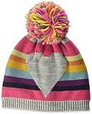 maximo Mit Ringel Herz und Pompon Bonnet, Multicolore (Graumeliert/Multicolor 599),...