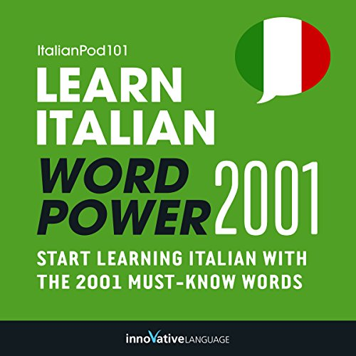 Learn Italian - Word Power 2001 audiobook cover art
