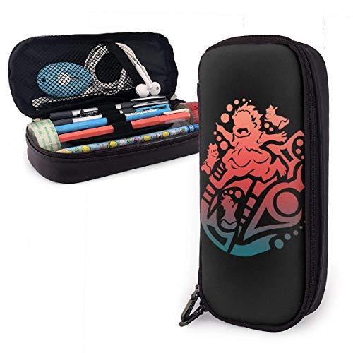 Yolop - Estuche para lápices de gran capacidad y gran capacidad, organizador de papelería, práctica bolsa con cremallera para la escuela y la oficina – 7.88 x 3.54 x 1.58 pulgadas – Hayao Miyazaki