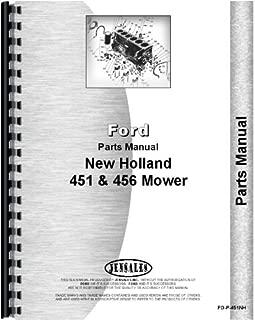 New Holland 451 456 Sickle Bar Mower Parts Manual (FO-P-451NH)