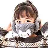 GJKK Mund Und Nasenschutz mundschutz wintermotiv Kinder Winter warm Earmuffs Earmuffs Windproof Winter Riding Mund und nasenschutz