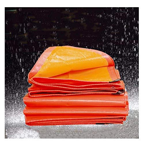 AOLI Encerado del abrigo de la tienda Tarp cubierta Vagón tiendas de dosel plástico impermeable uso al aire libre - personalizable,9.8m * 8.8m