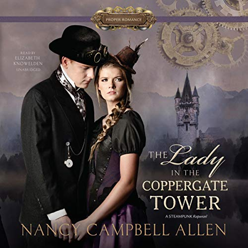 The Lady in the Coppergate Tower audiobook cover art