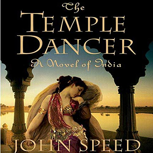 The Temple Dancer audiobook cover art