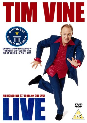 Tim Vine - Live [DVD]