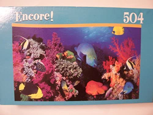 Encore 504 Pc Puzzle  Reef Collage by Mega Brands