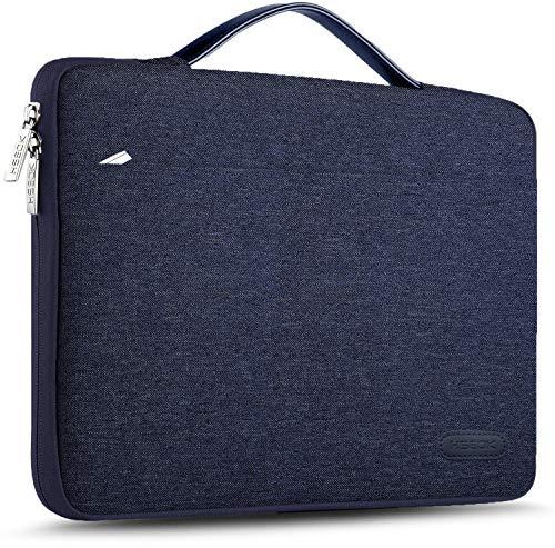 HSEOK 13-13,5 Pollici Borsa Portatile Custodia Protettiva Sottile Impermeabile Ventiquattrore per 13.3  MacBook Air PRO, XPS 13, Surface Book 13,5  e 13 -13,5  Laptops Notebook, Blu Marina