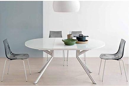 Amazon.es: mesa redonda extensible - Mesas para lámparas ...
