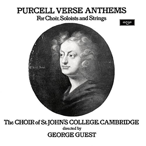 Choir Of St. John's College, Cambridge, Paul Esswood, Ian Partridge, Stafford Dean, John Scott & George Guest