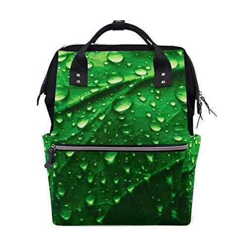 Punchy Pastel Cactus Tropical Leaves School Backpack Large Capacity Mummy Bags Laptop Handbag Casual Travel Rucksack Satchel for Women Men Adult Teen Children