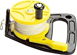 ScubaMax 150 Foot Dive Reel Yellow with Thumb Stopper