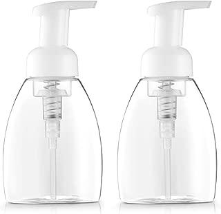 Bar5F Foaming Soap Dispenser Pump-Bottle for Dr. Bronner's Castile Liquid Soap, 250ml (8.5 oz) Pack of 2