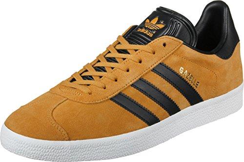 adidas Gazelle, Scarpe da Ginnastica Basse Unisex Adulto, Giallo (Yellow F17/Core Black/Gold Met), 45 1/3 EU