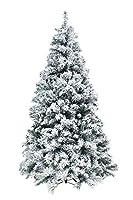 GUARDA IL VIDEO >> https://www.youtube.com/watch?v=NpOWgvjyQlM Albero innevato versione slim per ambienti ridotti, ideale per chi desidera un albero di Natale importante senza eccessivi ingombri. La chioma è realizzata con materiali di qualità ed inn...