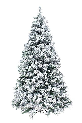 XONE Albero di Natale Kettinson Slim 240cm - Innevato e Folto
