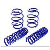 camaro lowering - Fit 2010-2015 Chevy Camaro (V8 Engine Only) Suspension Lowering Spring Blue (Front -1.0 inch/Rear -1.0 inch Drop)