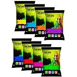 Polvos Holi - Polvos de colores | 8 bolsas 100 Gramos | #HoliFestival