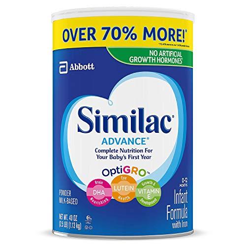 Similac Advance Infant Fomula 40 oz ( 0-12 MONTHS )