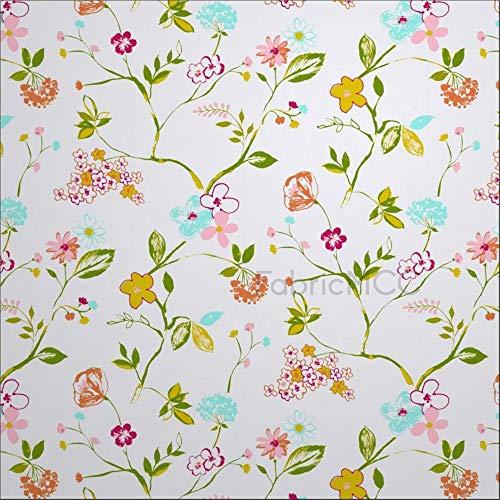 Juego de pegatinas decorativas para azulejos, diseño de flores mágicas de Sketch Flower de 10 x 10 cm, vinilo para decoración del hogar