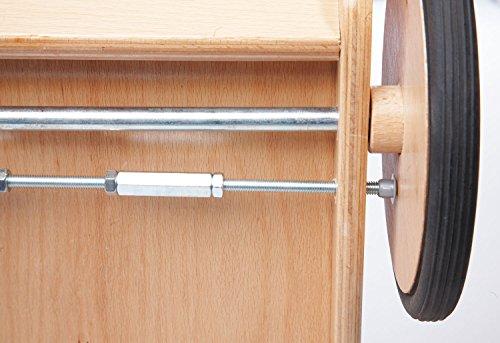 Pinolino 269425 Lauflernwagen Uli, 56 x 32 x 45 cm, rot - 2